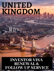 UK Investor Visa, Renewal, Follow up Service, Tier 1 Investor, Permanent Residency, UK