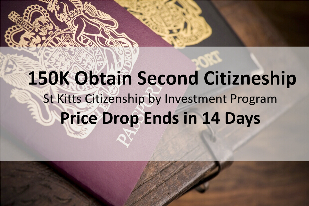 Second Citizenship St Kitts Citizenship By Investment Program Price