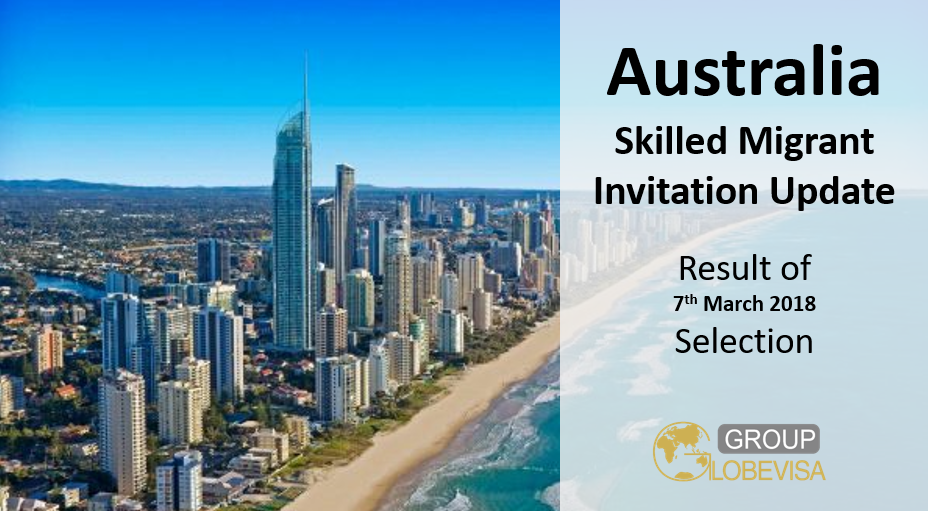 Australia skilled migrant program invitation update globevisa group the program year in australia begins in july and ends in june the 7th march selection completed with a total of 14161 invitations issued and there are stopboris Gallery